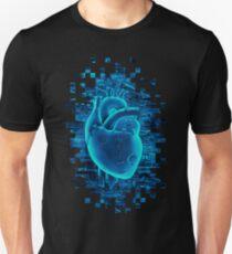 Gamer Heart BLUE TECH T-Shirt