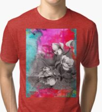 Saturated watercolor Tri-blend T-Shirt