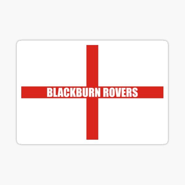 Blackburn England Flag Sticker