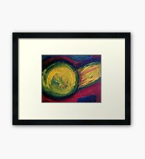 Yellow Ball Framed Print