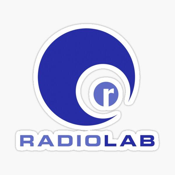 RadioLab Podcast Sticker