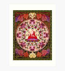Mandala buda 2 Art Print
