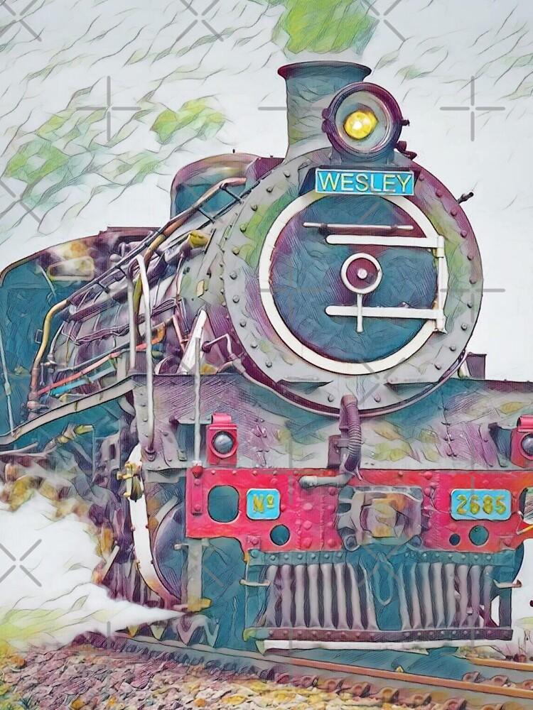 GALATHI Locomotive Train Westley - Trains by kobusvw