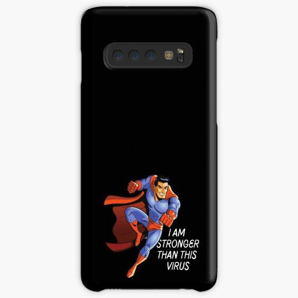Superhero vs Virus Samsung Galaxy Snap Case