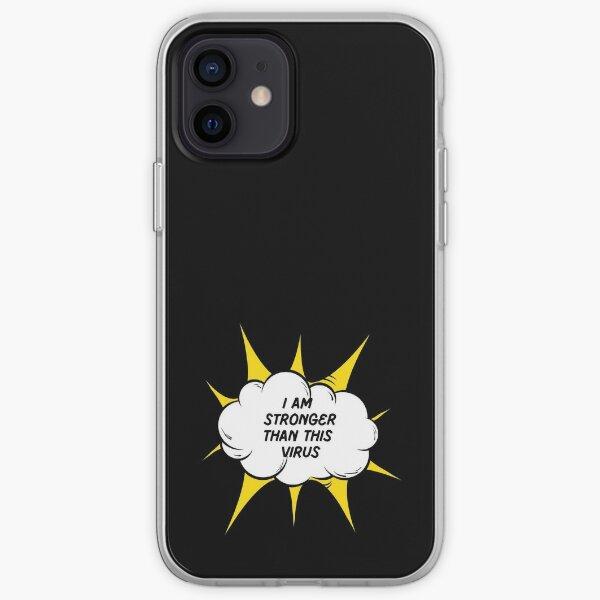 Superhero vs Virus iPhone Soft Case