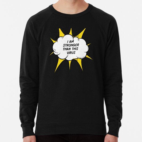 Superhero vs Virus Lightweight Sweatshirt
