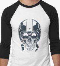 Skull in Racer Helmet T-Shirt