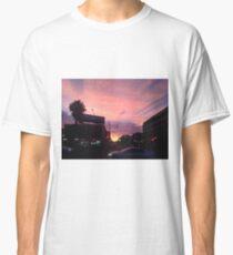 Powder Pink Urban Scape Classic T-Shirt