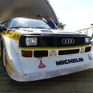 Audi Quattro Group B WRC by Tom Gregory