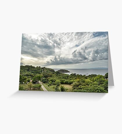 Costa Rica Pacific Greeting Card
