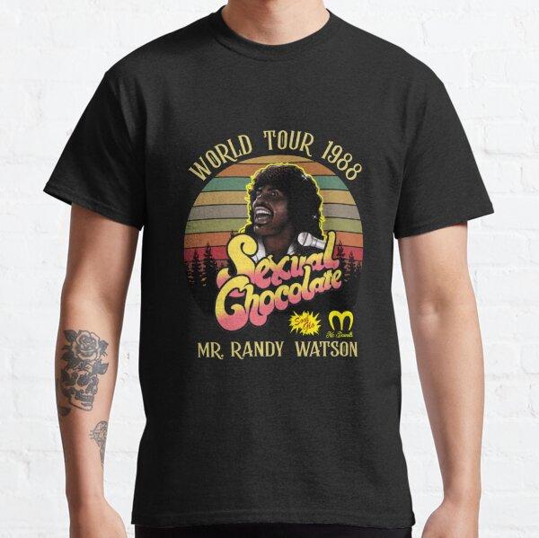 Sexual Chocolate World Tour 1988 Vintage Retro Classic T-Shirt