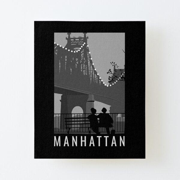 Manhattan Movie Artwork Canvas Mounted Print
