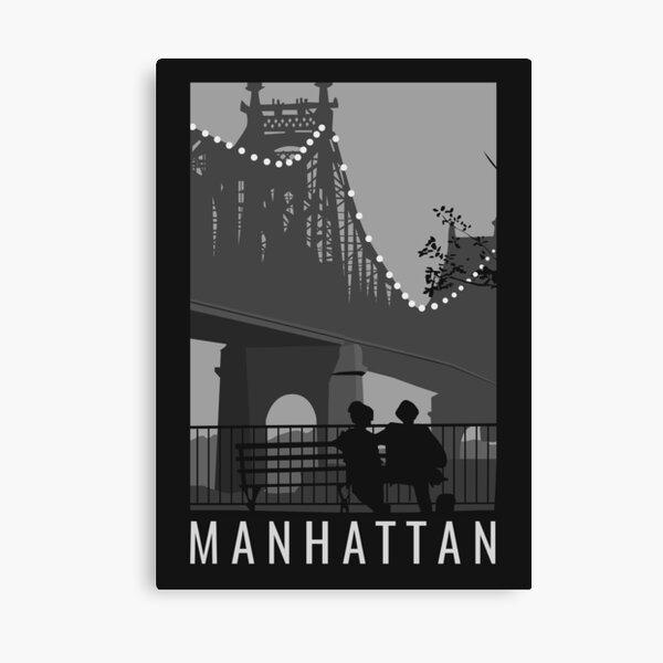 Ilustraciones de la película de Manhattan Lienzo