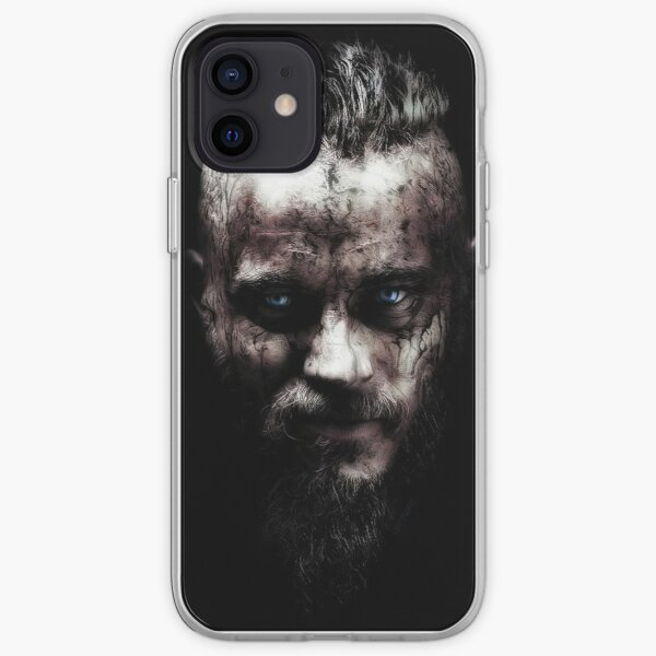 Vikings de Ragnar Lothbrok Coque souple iPhone