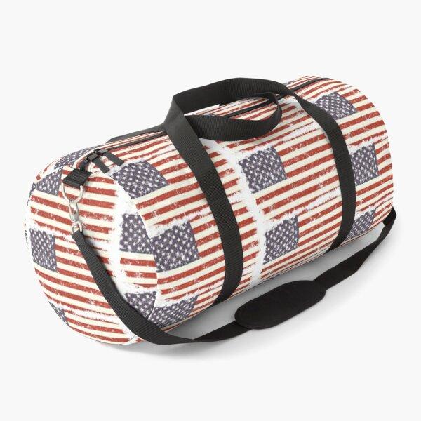 Usa old flag Duffle Bag