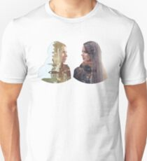 Person of Interest - Shaw & Root -  Face to Face T-Shirt
