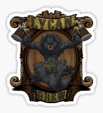 Lycan Brew Sticker