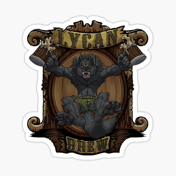 Lycan Brew Sticker