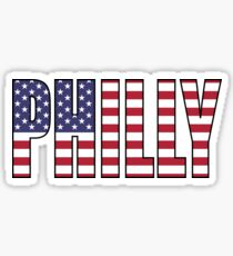 Philadelphia. Sticker