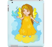 Cute Angel cartoon vector iPad Case/Skin