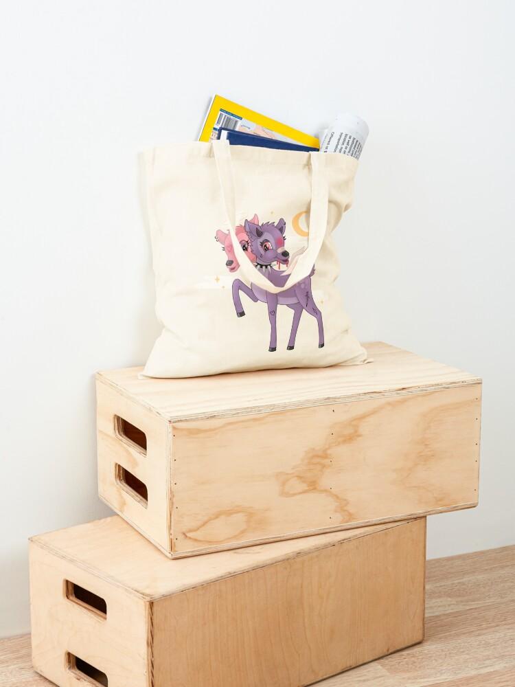Alternate view of ANGEL/DEMON BAMBI Tote Bag
