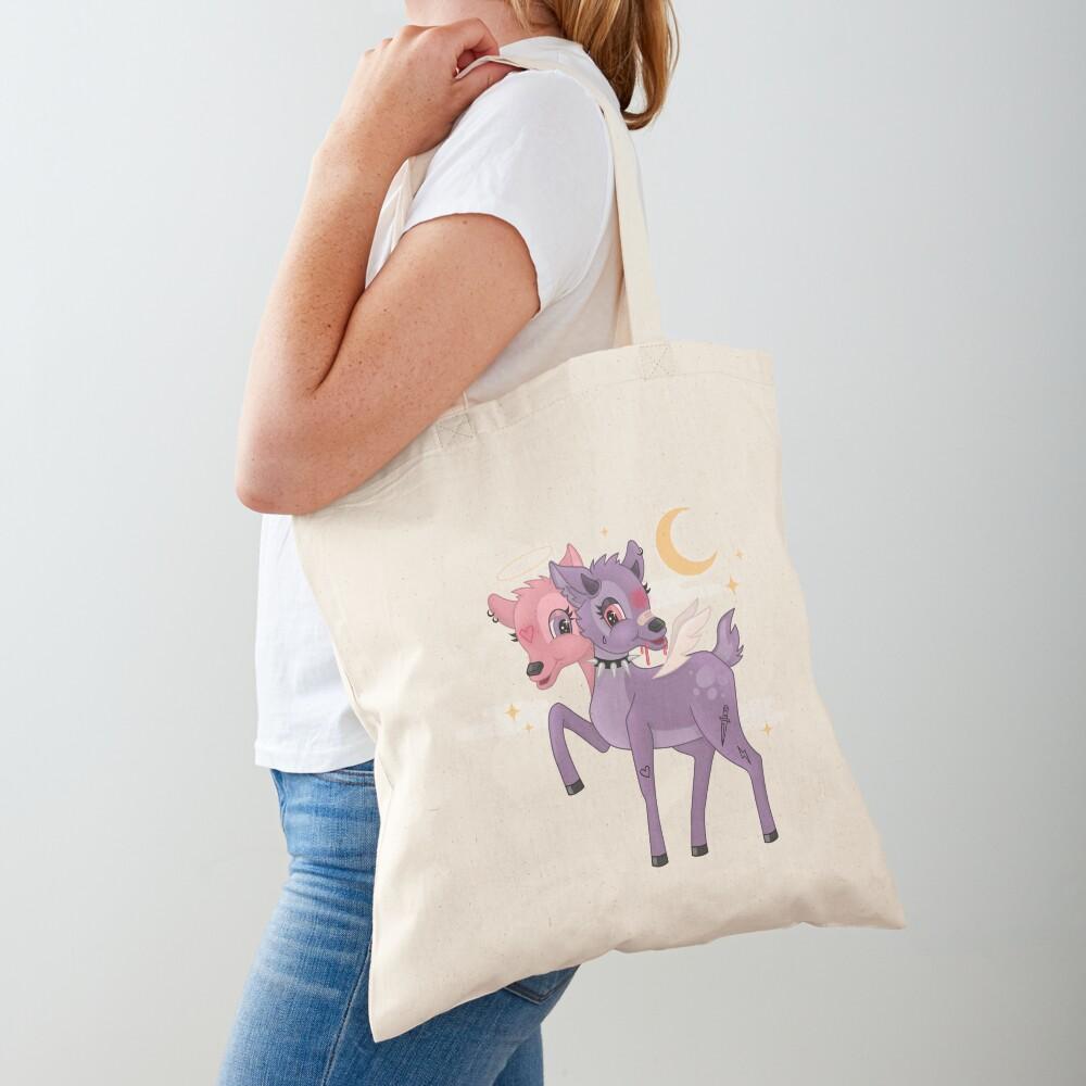 ANGEL/DEMON BAMBI Tote Bag
