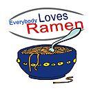 Everybody Loves Ramen Parody by doonidesigns