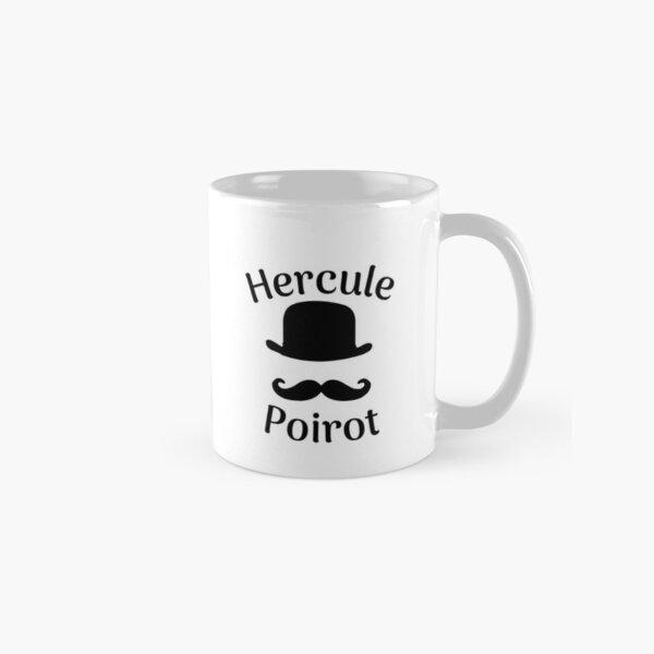 Hercule Poirot. Hut und Schnurrbart Tasse (Standard)