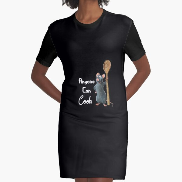 Ratatouille The Musical Graphic T-Shirt Dress