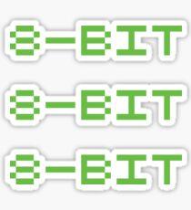 8 bit Sticker