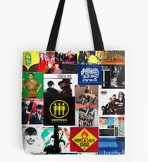 spain and southamerica rock and pop bands Tote Bag