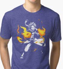 Fire Dragon Slayer Tri-blend T-Shirt