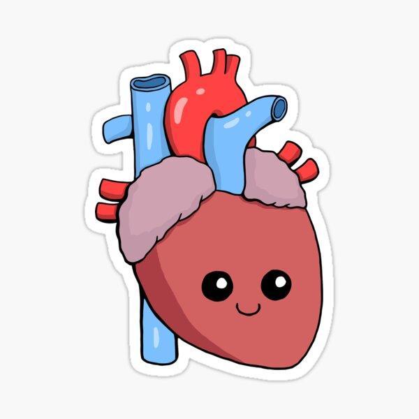 Cute Happy Heart Sticker