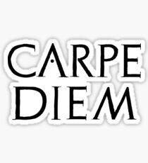 Carpe diem - latin quote Sticker