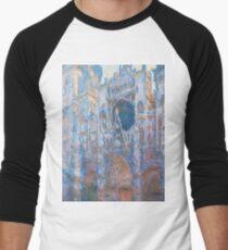 1894-Claude Monet-Rouen Cathedral, West Façade-65 x 100 T-Shirt