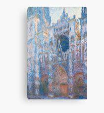 1894-Claude Monet-Rouen Cathedral, West Façade-65 x 100 Canvas Print