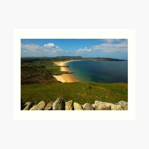 Ballymastocker Donegal Ireland  Art Print