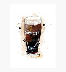 Guinness Pint Photographic Print
