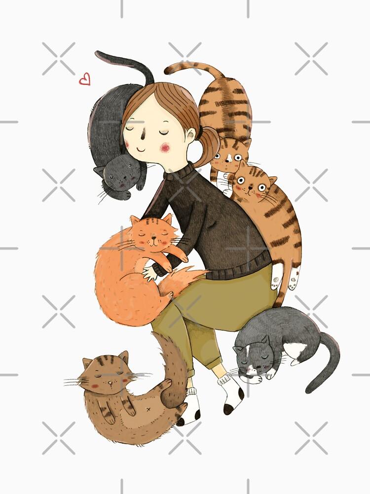 Cat Love by Judith-Loske
