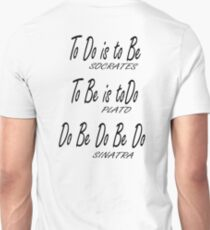 Do be Do be Do, Greek version, MUSIC, Frank Sinatra Lyrics T-Shirt
