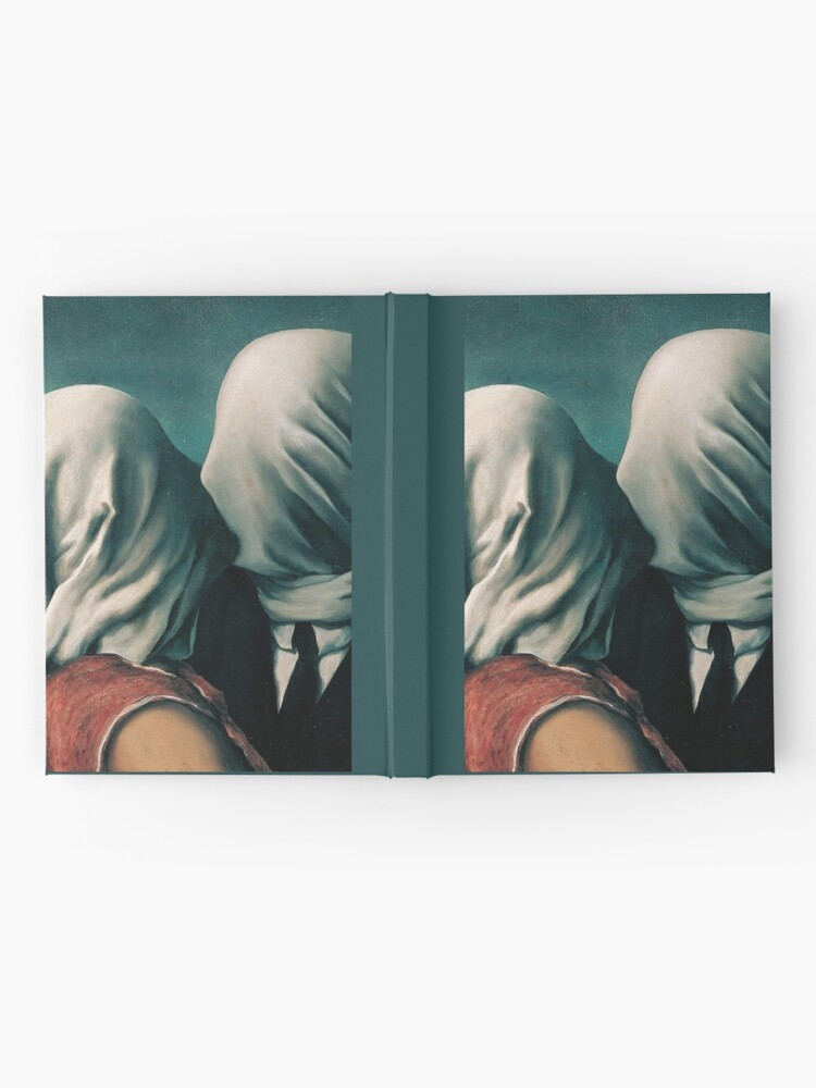 Alternate view of Rene Magritte The Lovers  Hardcover Journal