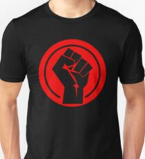 Red Socialist Fist T-Shirt