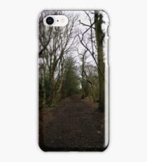 walk to the end iPhone Case/Skin