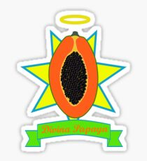 Holy Papaya Sticker