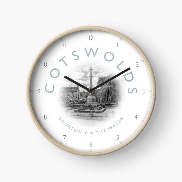 Bourton on the Water Cotswolds Clock