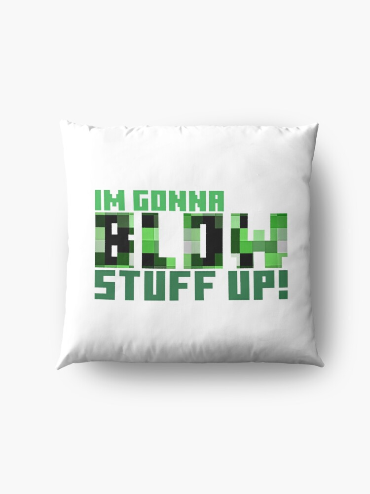 Alternate view of Blow stuff up! Floor Pillow