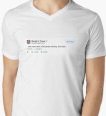b33ed372a51 Donald Trump Tweet Men s V-Neck T-Shirt