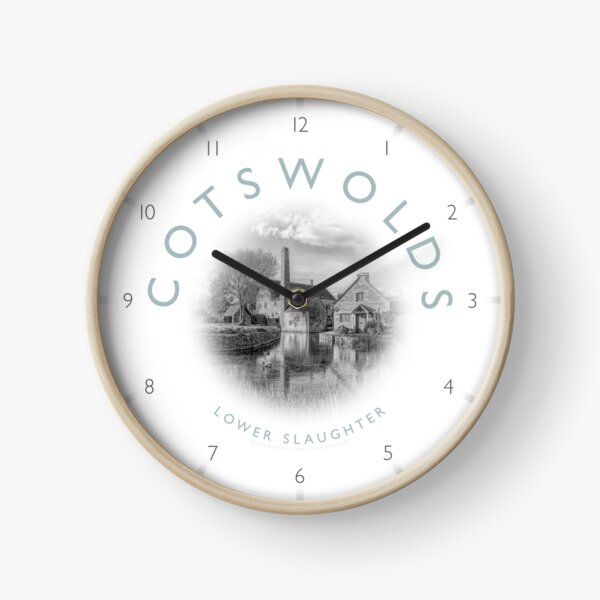 Lower Slaughter Cotswolds Clock