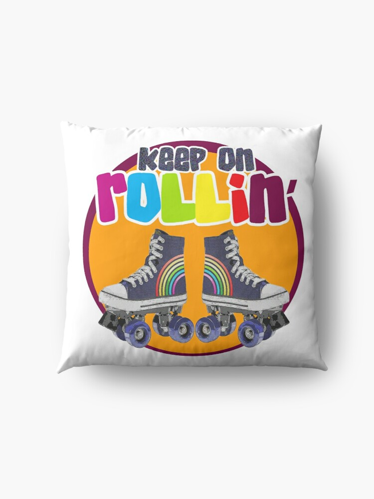 Alternate view of Keep on Rollin' Floor Pillow