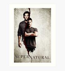 Supernatural 1 Art Print